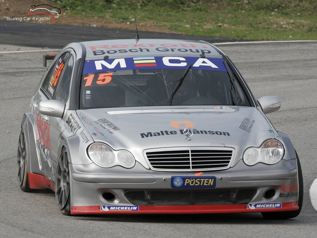 Touring car register s2000 mercedes benz c200 35 for Mercedes benz touring car