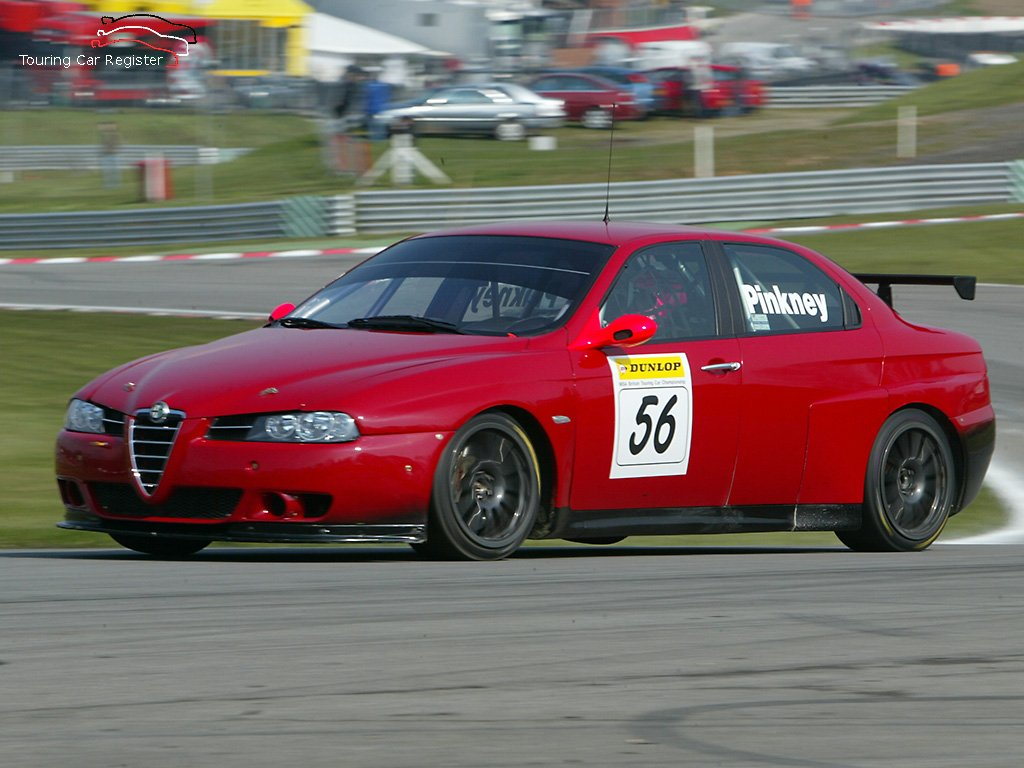 Alfa Romeo 156 Btcc Super Touring Car: Touring Car Register : S2000 : Alfa Romeo 156 SE107-009