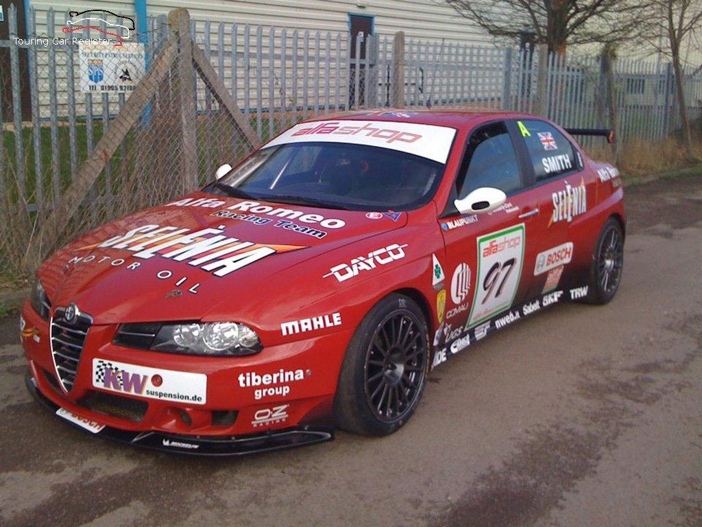 Alfa Romeo 156 Btcc Super Touring Car: Touring Car Register : S2000 : Alfa Romeo 156 SE107-010