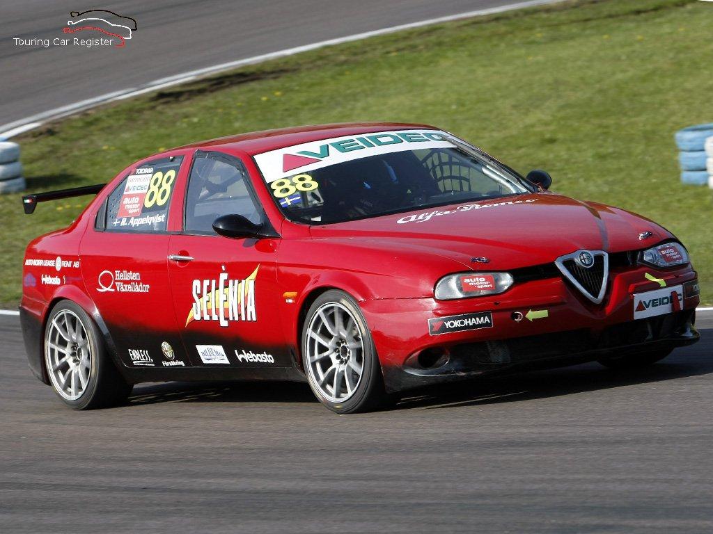 Alfa Romeo 156 Btcc Super Touring Car: Touring Car Register : S2000 : Alfa Romeo 156 03AR60003001
