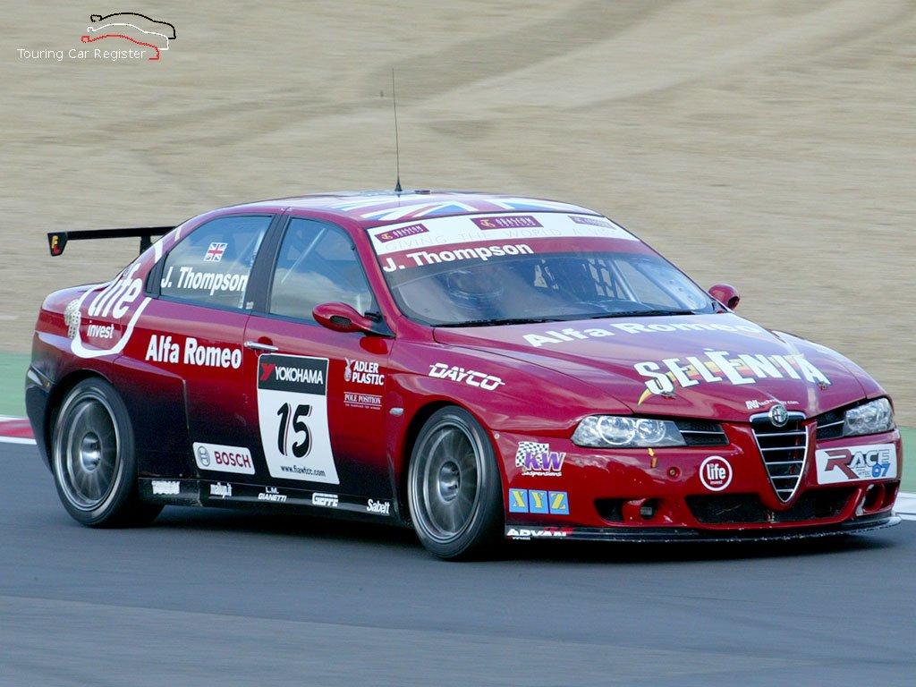 Alfa Romeo 156 Btcc Super Touring Car: Touring Car Register : S2000 : Alfa Romeo 156 SE107-012