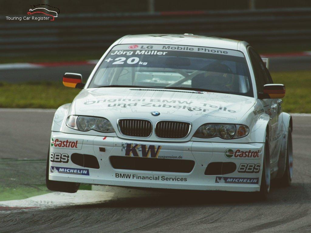 Touring Car Register : S2000 : BMW 320 E46 E46/4 FL ETCC 009