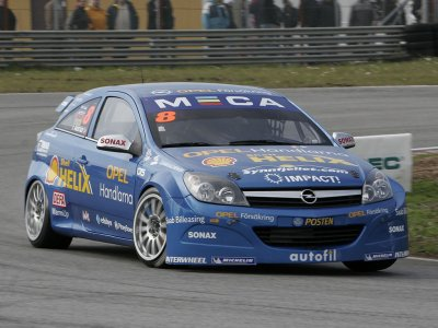 Tommy Rustad. STCC Sturup 2007 (© PSP Images)