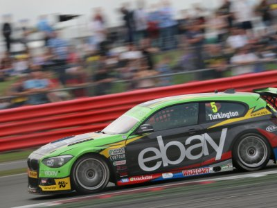 Colin Turkington, Silverstone BTCC 2014 (© Nigel Clark)